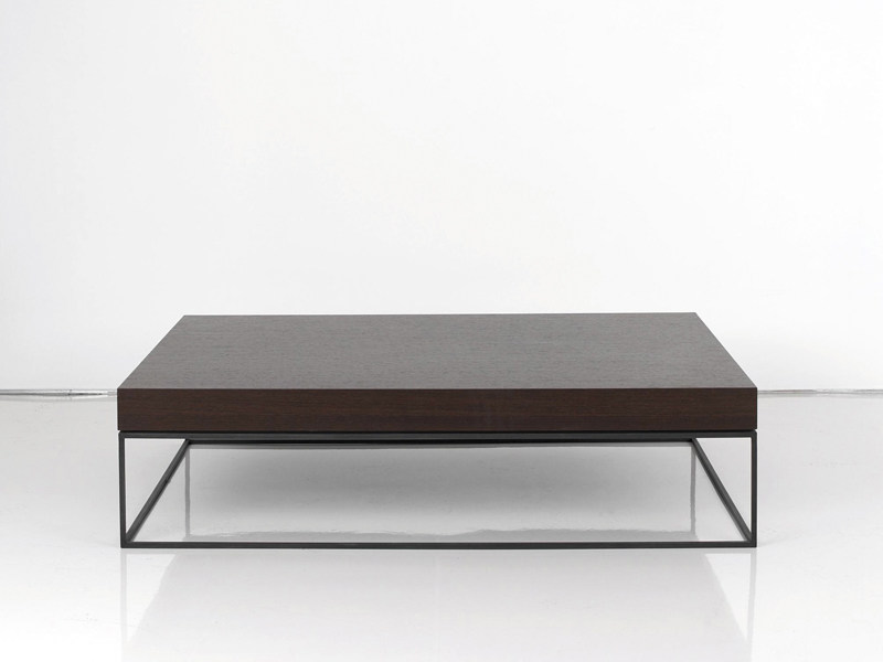 Low Wooden Coffee Table HOUSTON | Coffee Table By INTERNI EDITION