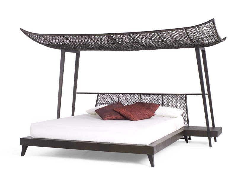Oriental style canopy bed IMA by KENNETH COBONPUE
