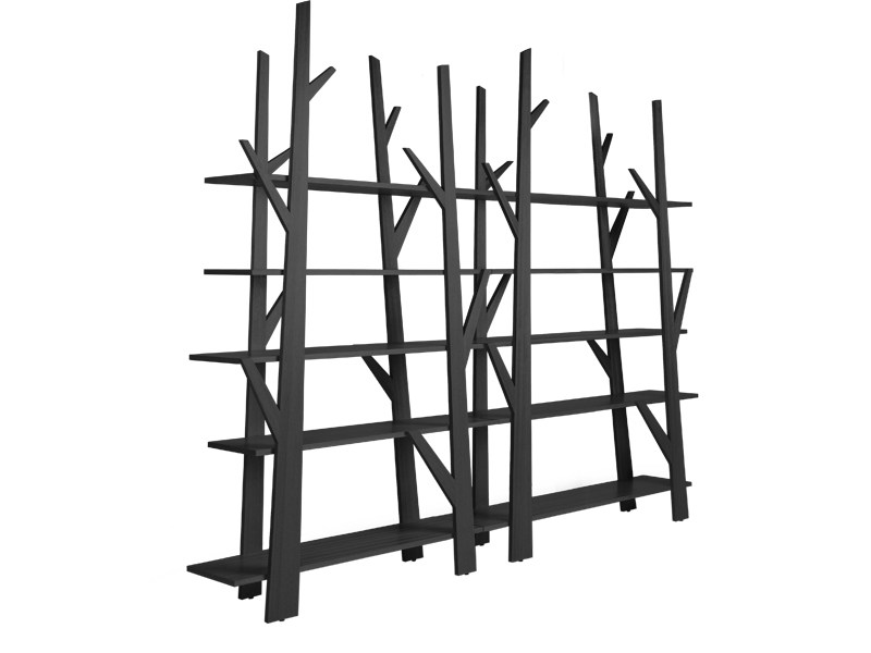 Modular plywood bookcase JUNIPER by KENNETH COBONPUE