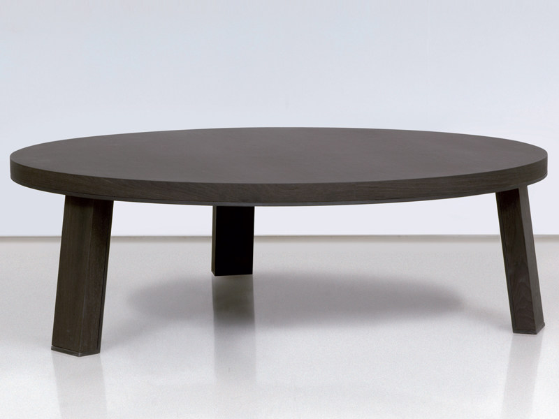 Round wooden coffee table LONDON | Coffee table by INTERNI EDITION