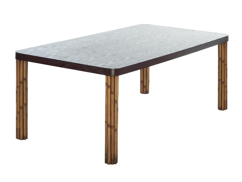 Rectangular dining table KAWAYAN | Table by KENNETH COBONPUE