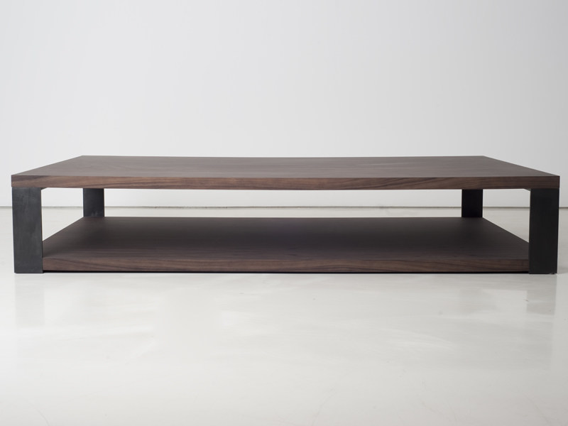 Wooden Coffee Table Side By Interni Edition