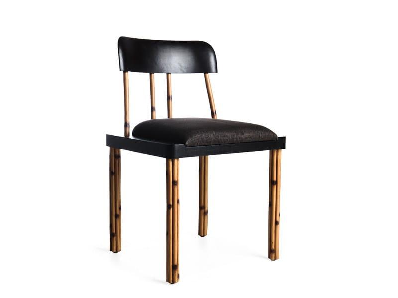 Oak chair KAWAYAN TOO by KENNETH COBONPUE