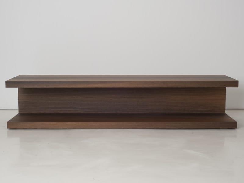 Wooden coffee table ADIKTA by INTERNI EDITION