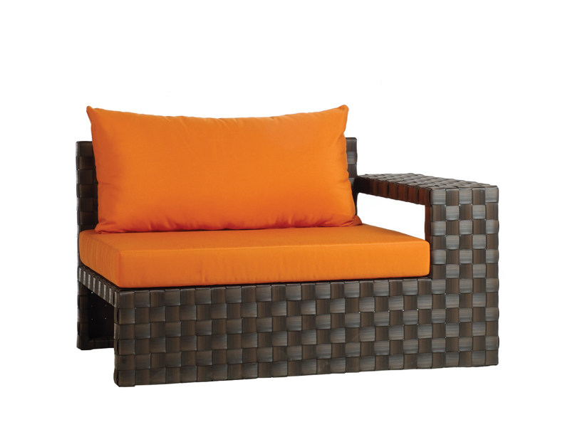 Sectional garden armchair LINK | Sectional garden armchair by KENNETH COBONPUE