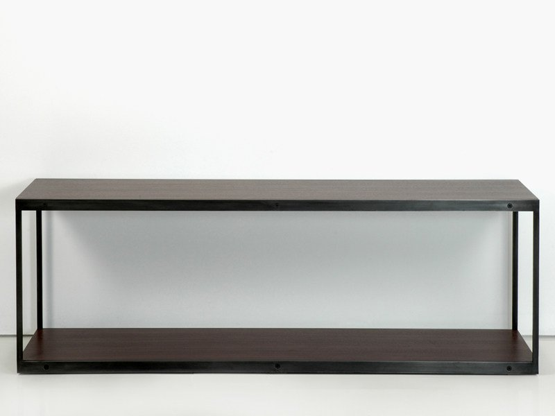 Rectangular wooden console table ENTRE-DEUX | Console table by INTERNI EDITION