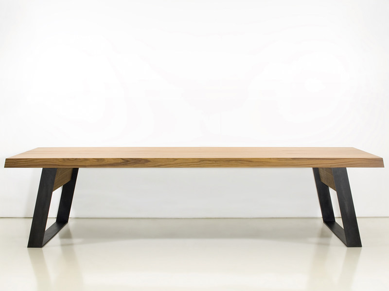 Wooden dining table BROADWAY by INTERNI EDITION
