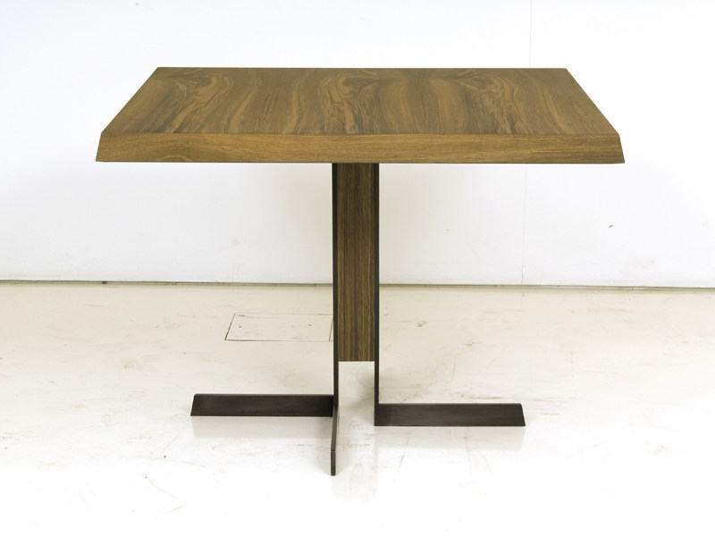 Wooden dining table DENVER by INTERNI EDITION