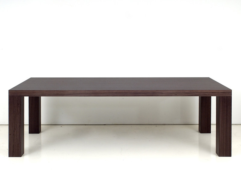 Wooden dining table FOSTER by INTERNI EDITION