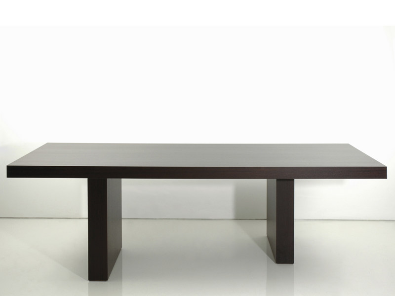 Wooden dining table LESSNESS | Table by INTERNI EDITION