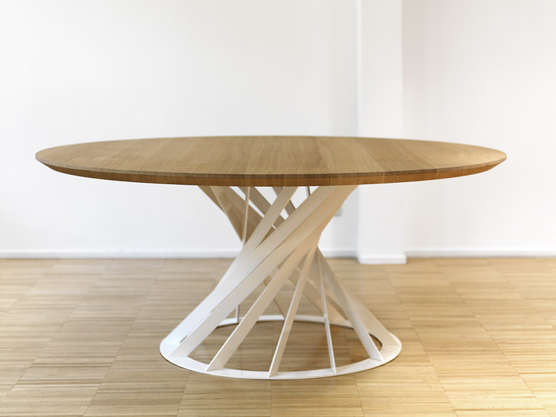 TWIST Table By INTERNI EDITION design Benot Deneufbourg