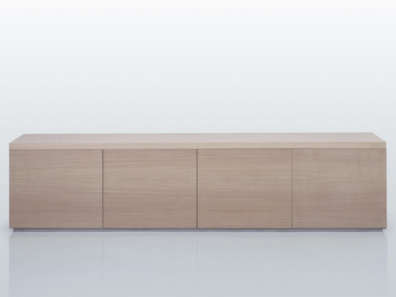 Wooden sideboard with doors BRISTOL | Sideboard by INTERNI EDITION