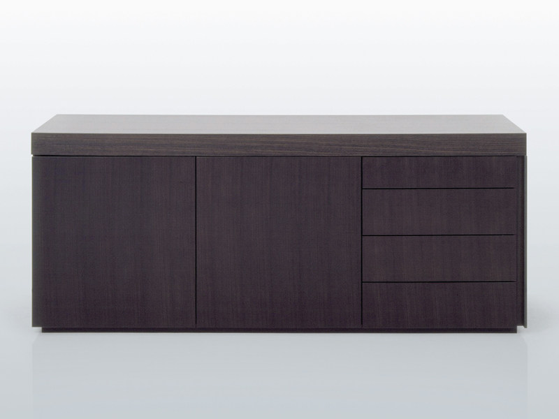 Wooden sideboard with doors LESSNESS   Sideboard by INTERNI EDITION
