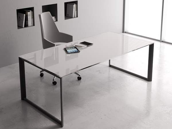 Contemporary style workstation desk ONLINE3 | Office desk by MASCAGNI
