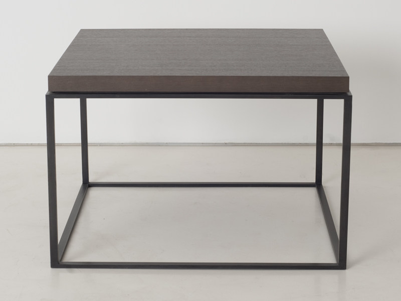 Square wooden coffee table HOUSTON P10/20 by INTERNI EDITION