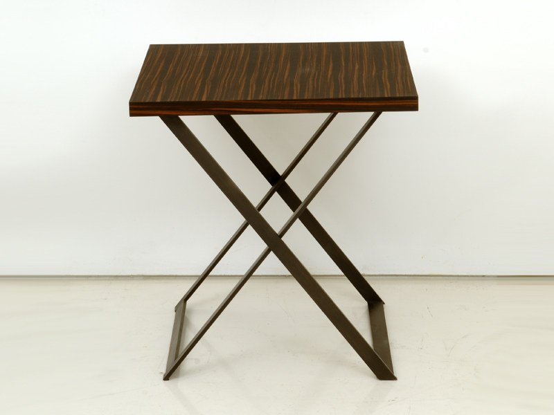 Square wooden coffee table LODGE by INTERNI EDITION