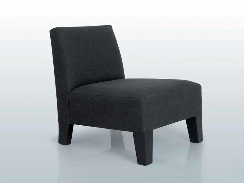 Upholstered armchair MANHATTAN by INTERNI EDITION