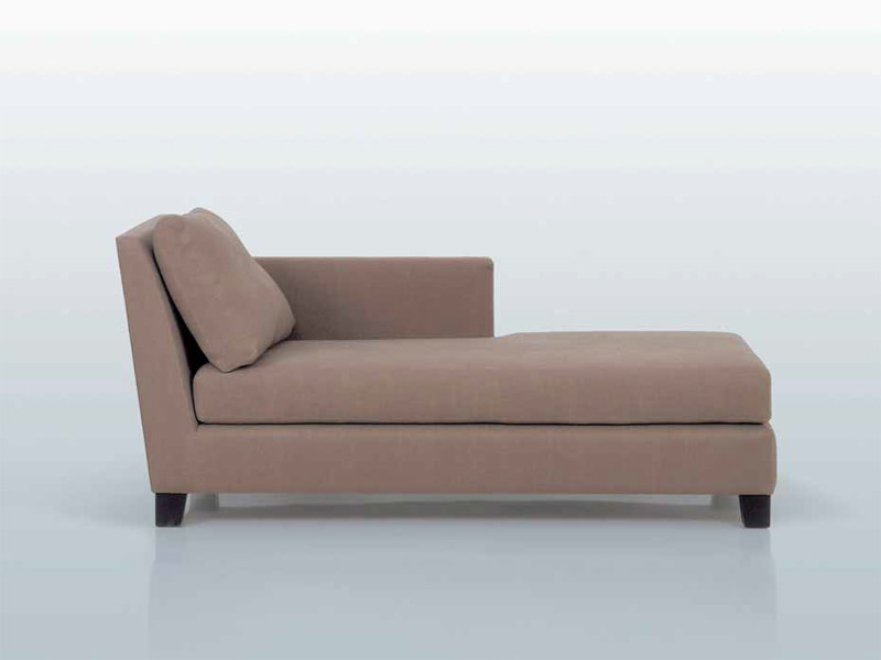 Fabric day bed MÉRIDIENNE by INTERNI EDITION