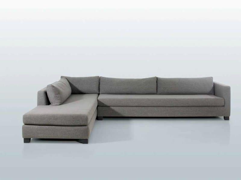 Canap d 39 angle en tissu new port by interni edition - Produit pour nettoyer canape en tissu ...