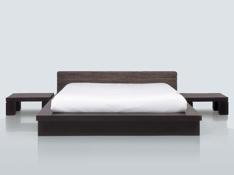 Natural fibre double bed HUKET by INTERNI EDITION