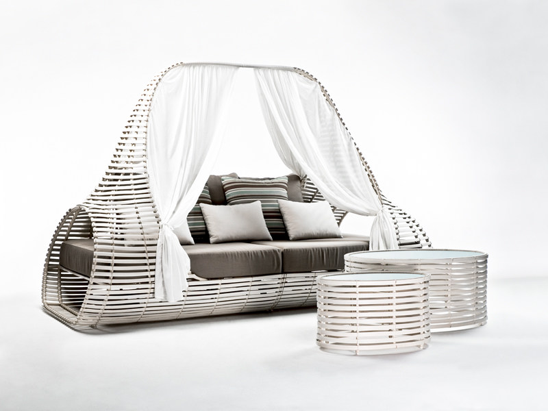 Canopy garden bed LOLAH   Canopy garden bed by KENNETH COBONPUE
