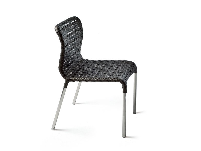 Stackable garden chair LOLITA by KENNETH COBONPUE