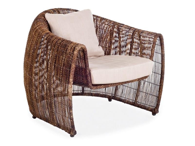 Polyethylene armchair LULU by KENNETH COBONPUE