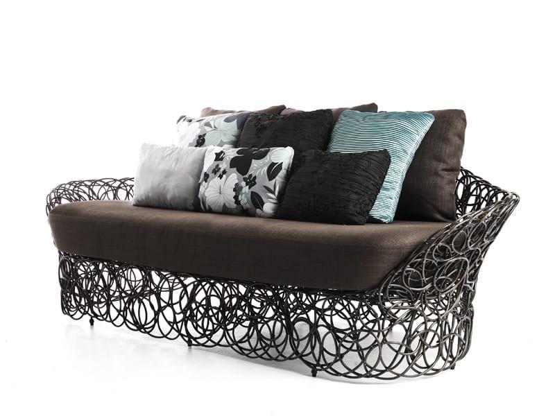 Rattan sofa NOODLE | Sofa by KENNETH COBONPUE