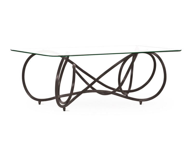 Rattan coffee table NOODLE | Coffee table by KENNETH COBONPUE