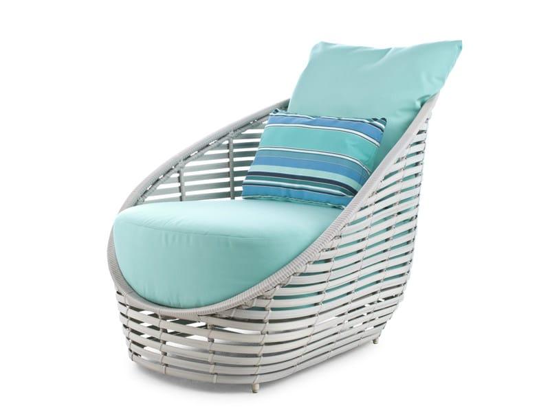 Polyethylene garden armchair OASIS | Garden armchair by KENNETH COBONPUE