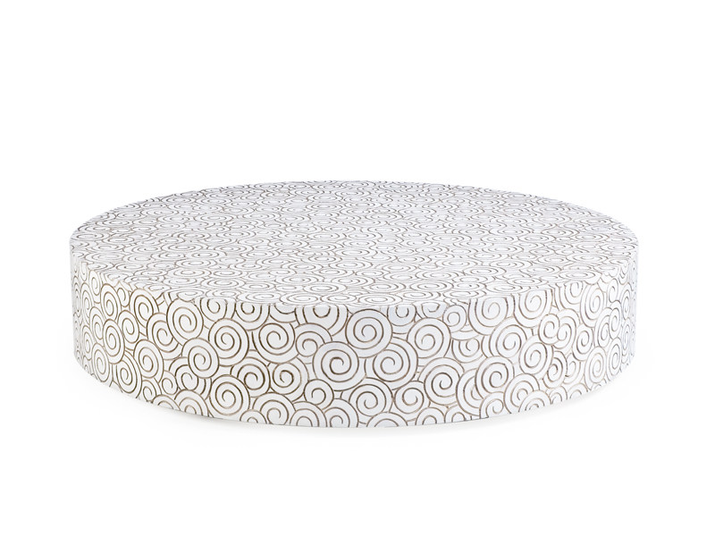 Round coffee table PIROUETTE by KENNETH COBONPUE