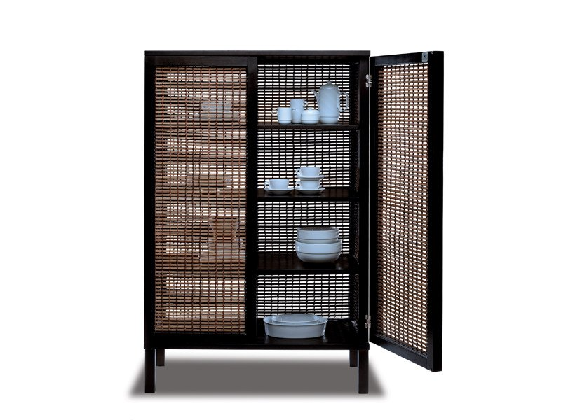 Oriental style wooden highboard SUZY WONG   Highboard by KENNETH COBONPUE