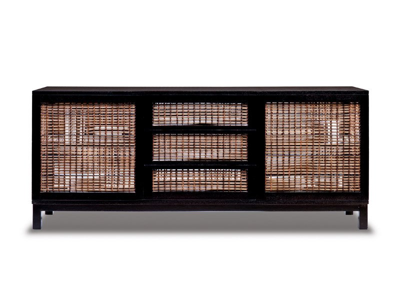 Oriental style wooden sideboard SUZY WONG   Sideboard by KENNETH COBONPUE