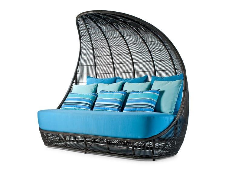 Igloo-shaped garden sofa VOYAGE | Garden sofa by KENNETH COBONPUE