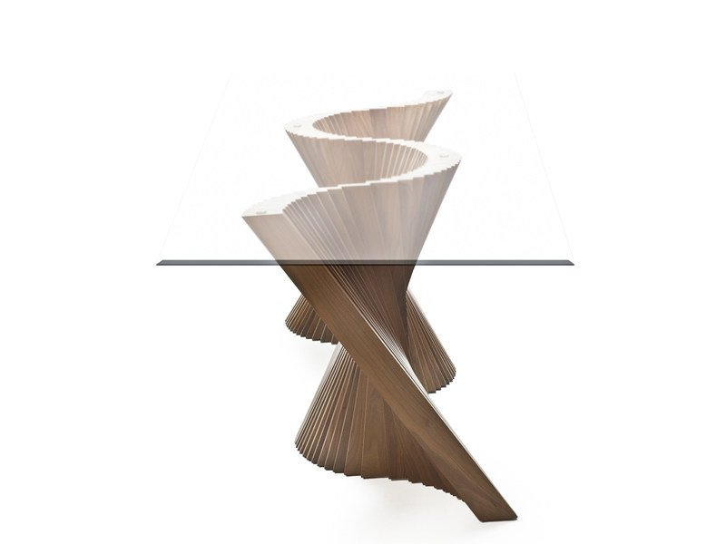 Rectangular dining table WAVE | Dining table by KENNETH COBONPUE