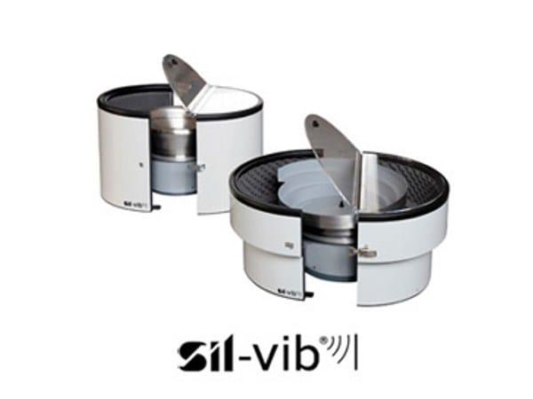 Vibration absorber, anti-vibration system SIL-VIB® by SILTE