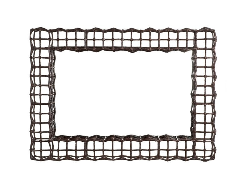 Rattan frame YIN & YANG | Frame by KENNETH COBONPUE