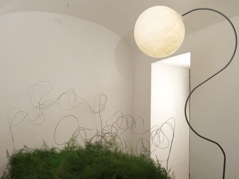 Luna piantana lampada da terra by in es.artdesign