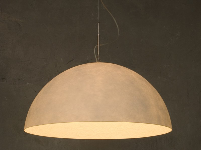 Nebulite® pendant lamp MEZZA LUNA 1 NEBULITE by In-es.artdesign