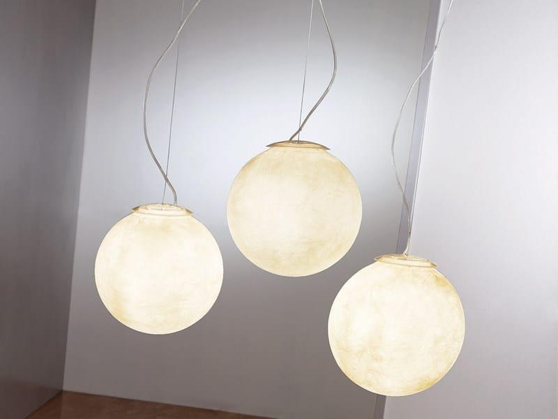 Nebulite® pendant lamp TRE LUNE by In-es.artdesign