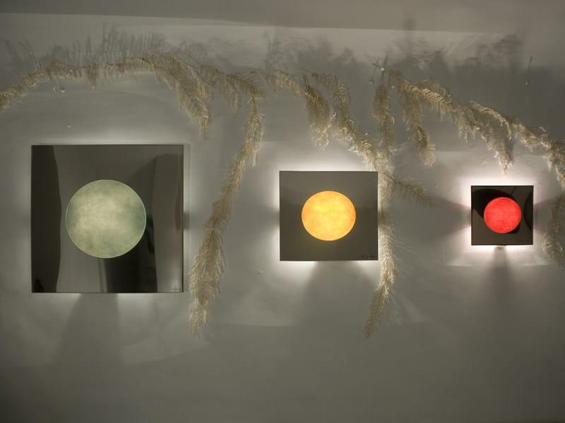 Nebulite® wall light WASHMACHINE by In-es.artdesign