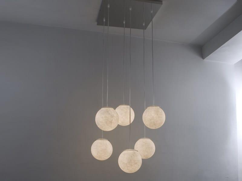 Nebulite® pendant lamp SEI LUNE by In-es.artdesign