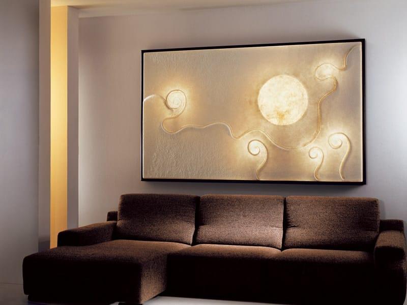 Nebulite® wall lamp LUNAR DANCE by In-es.artdesign