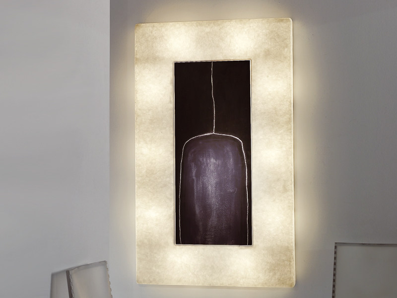 Nebulite® wall lamp LUNAR BOTTLE 2 by In-es.artdesign
