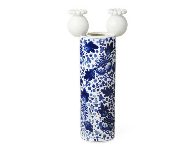 Ceramic vase DELFT BLUE 1 by moooi