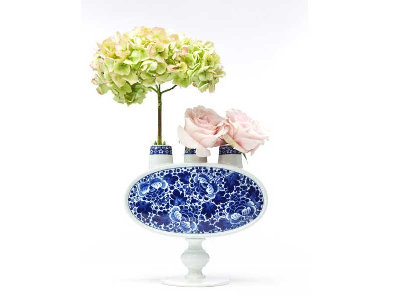 Ceramic vase DELFT BLUE 3 by moooi