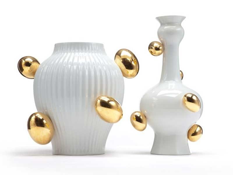 Ceramic vase DELFT BLUE 6 by moooi