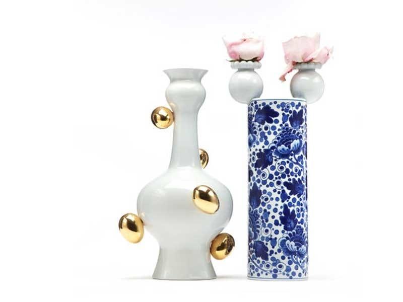 Ceramic vase DELFT BLUE 11 by moooi