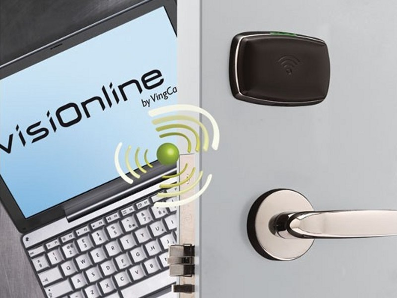 Electronic lock for hotels VISIONLINE by VISION ALTO ADIGE