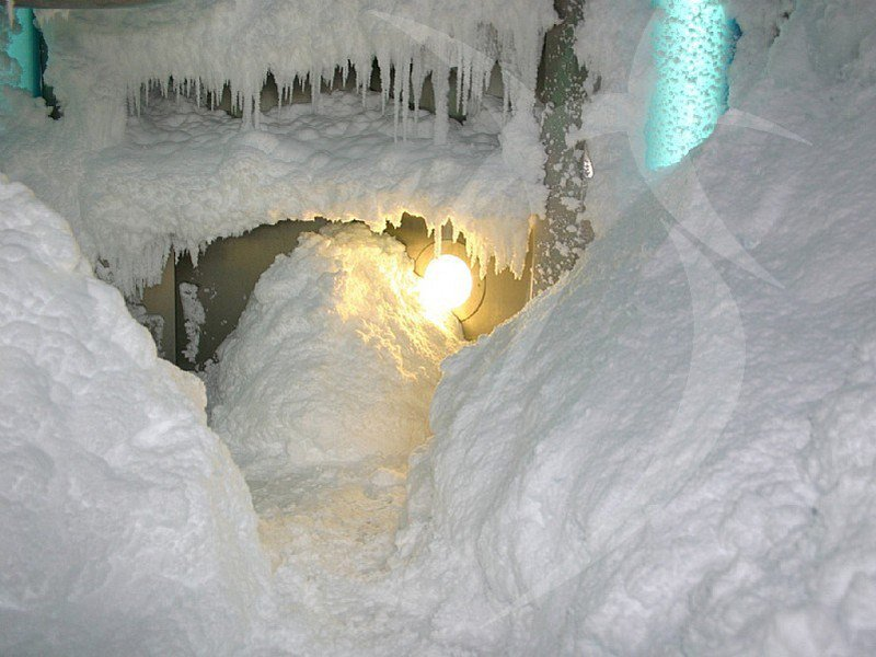 Ice cave Ice cave by Happy Sauna